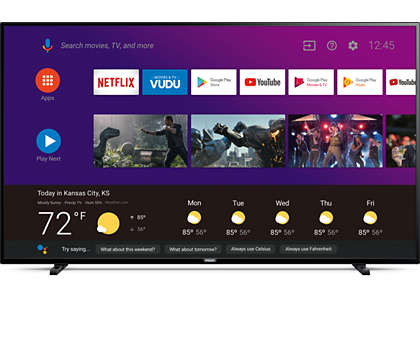 4K AndroidTV with Google Assistant