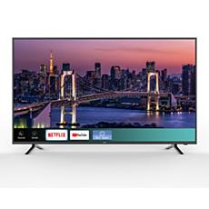 65PFL5504/F8  Smart Ultra HDTV serie 5000