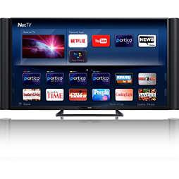 Smart Laser Ultra HDTV serie 8000