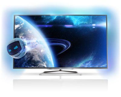 Philips Fernseher Bezeichnung : Ultraflacher smart led fernseher pfl s philips