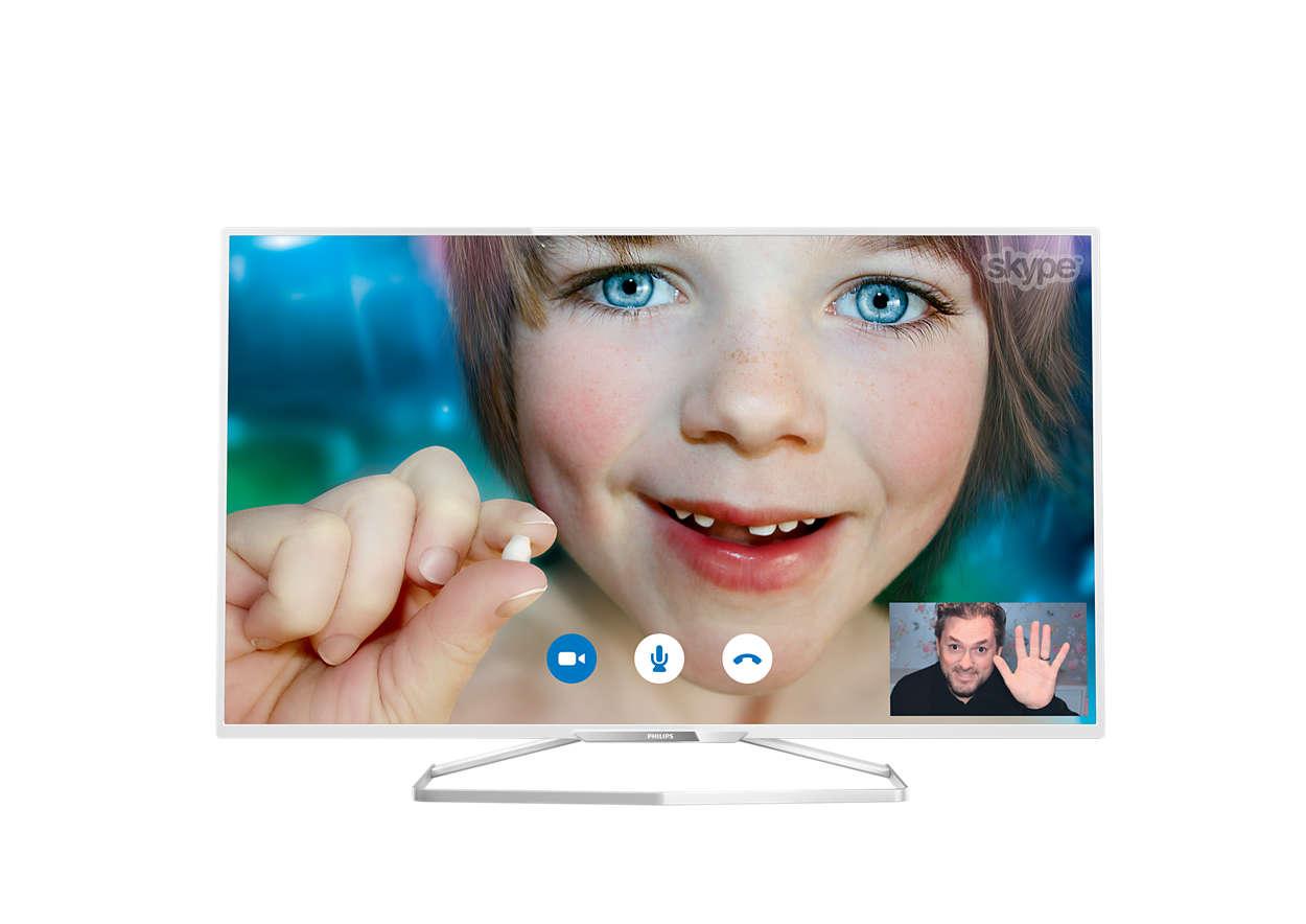 Тонкий светодиодный Full HD LED TV