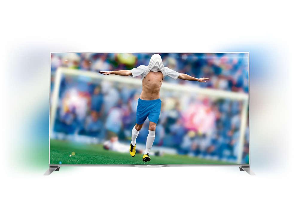 Smart TV LED Full HD sottile