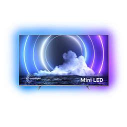 LED Android TV 4K UHD cu mini-LED-uri