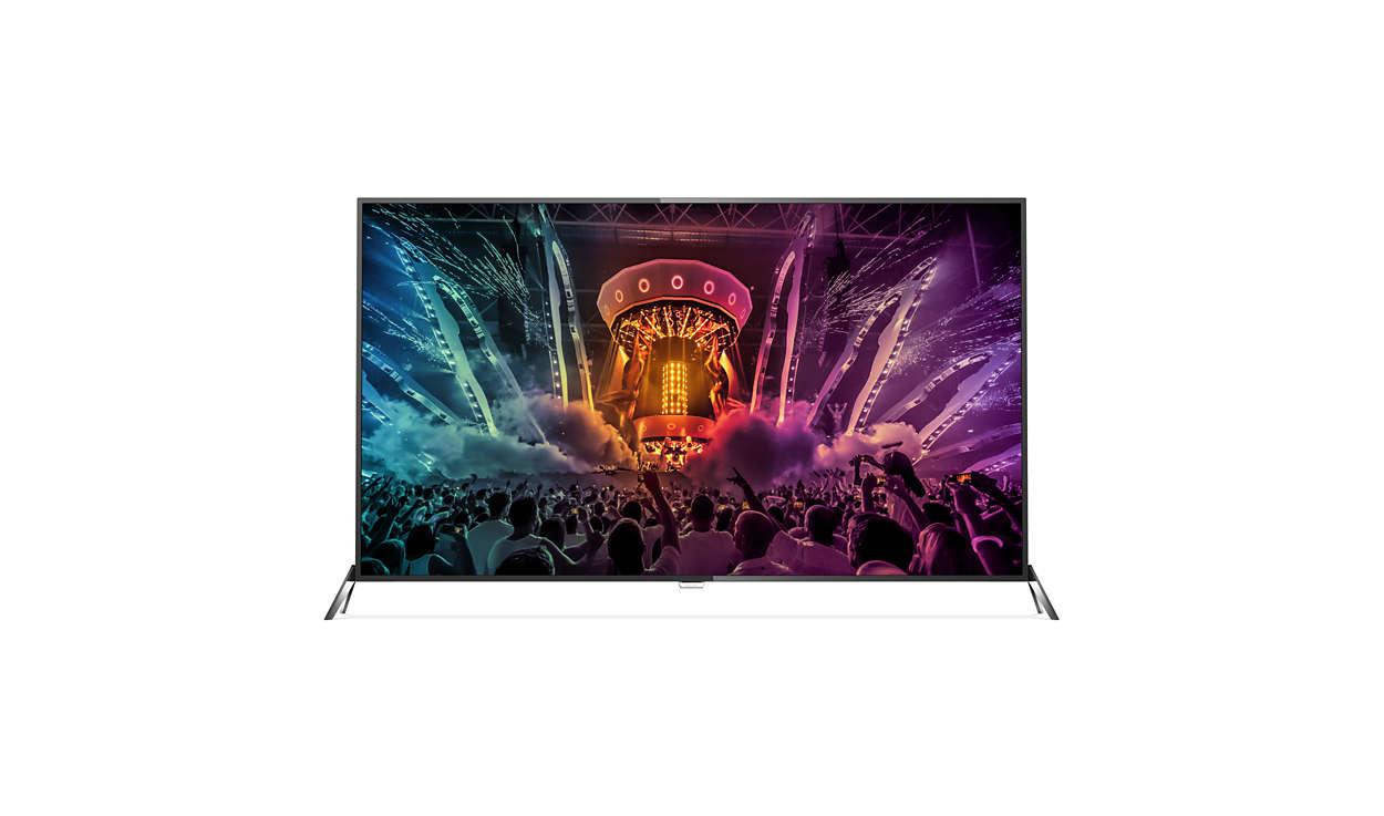 Smart TV LED ultra sottile 4K