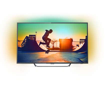 Ultratenký LED televizor Smart 4K