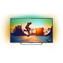 6000 series Ultraflacher 4K Smart LED-Fernseher