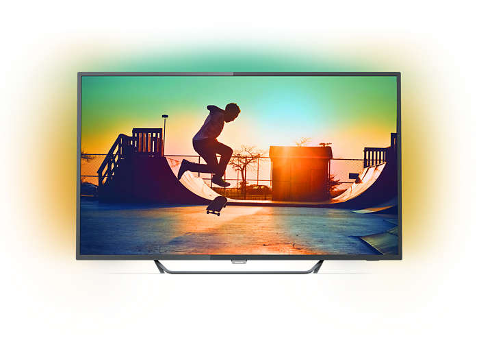 Smart TV LED 4K ultra fina