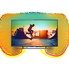 65PUS6262/12  Smart, ultratunn LED-TV med 4K