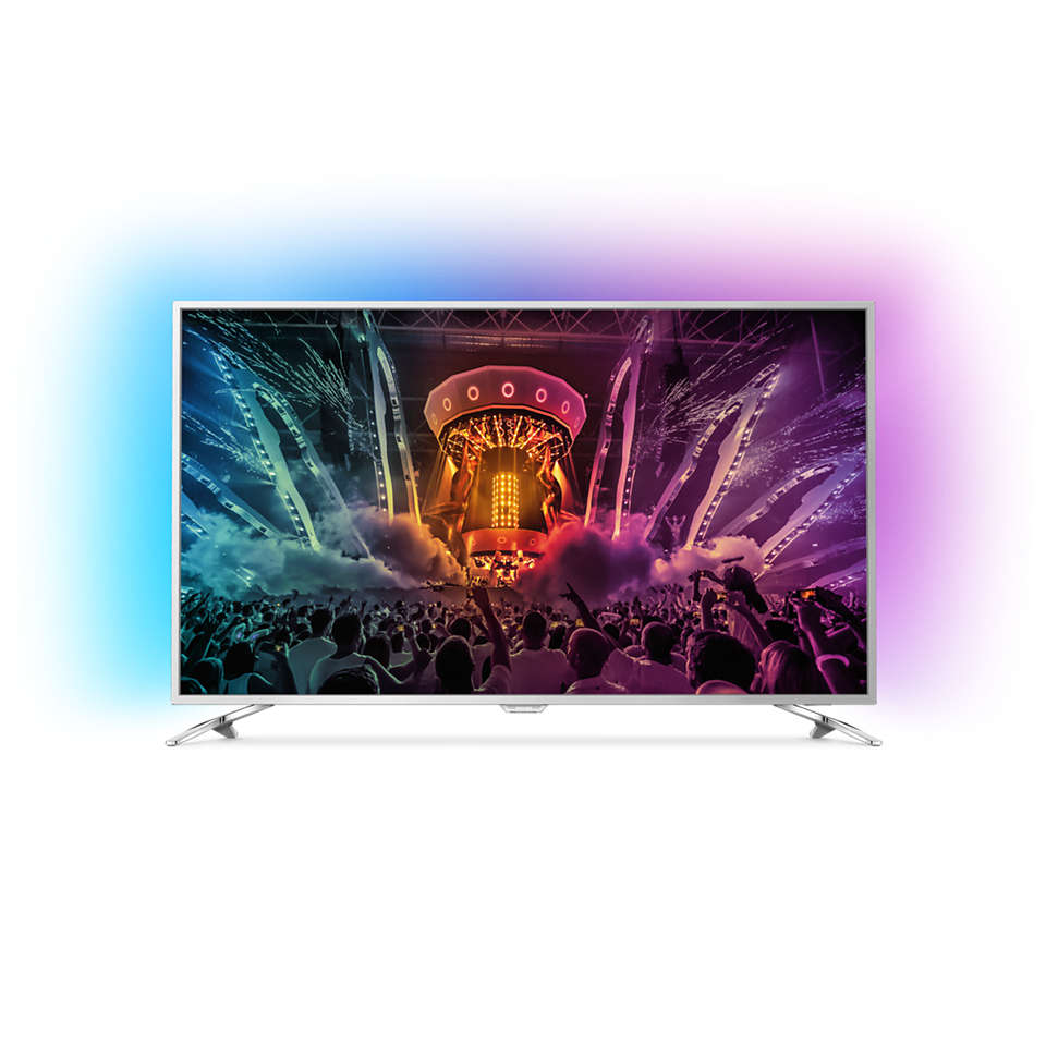 6000 series Ultraflacher 4K Fernseher powered by Android TV™