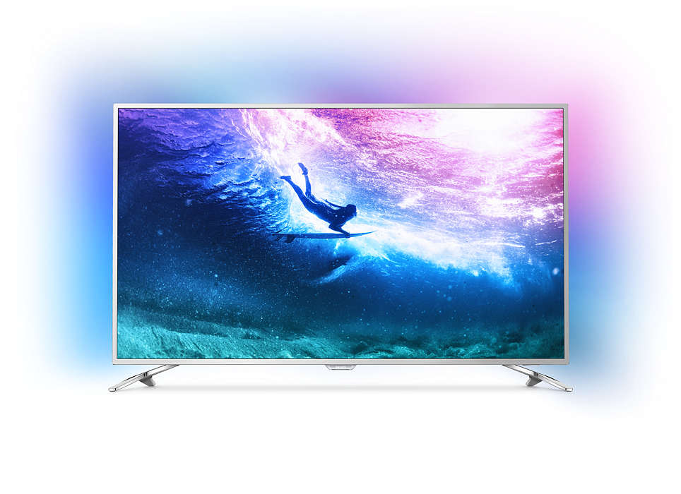 Televizor LED ultrasubţire 4K dotat cu Android TV