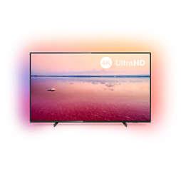 6700 series Smart LED-TV med 4K UHD