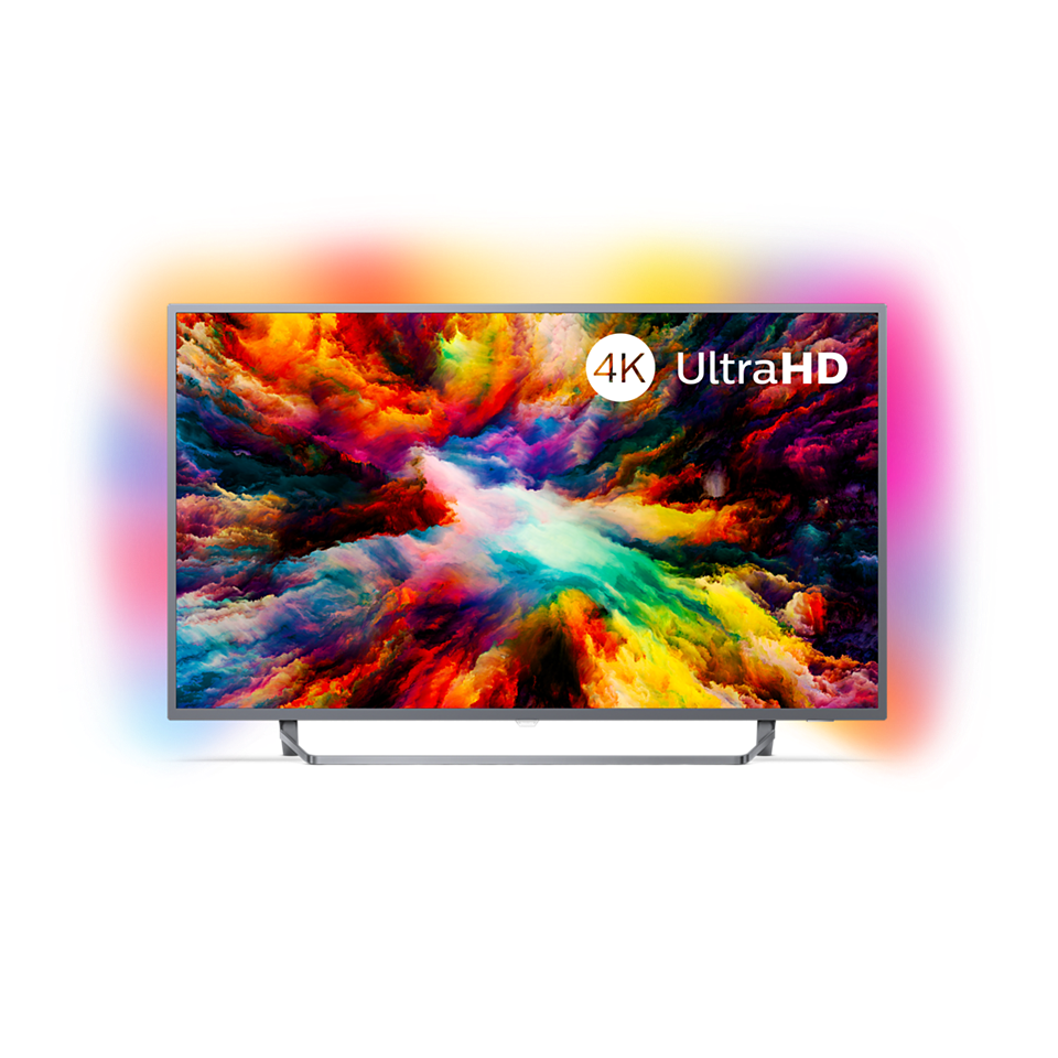 7300 series Téléviseur Android ultra-plat 4K UHD LED