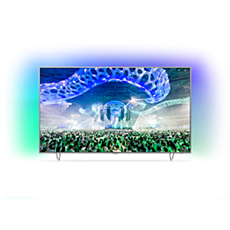 65PUS7601/12  Ultratyndt 4K TV med Android TV™