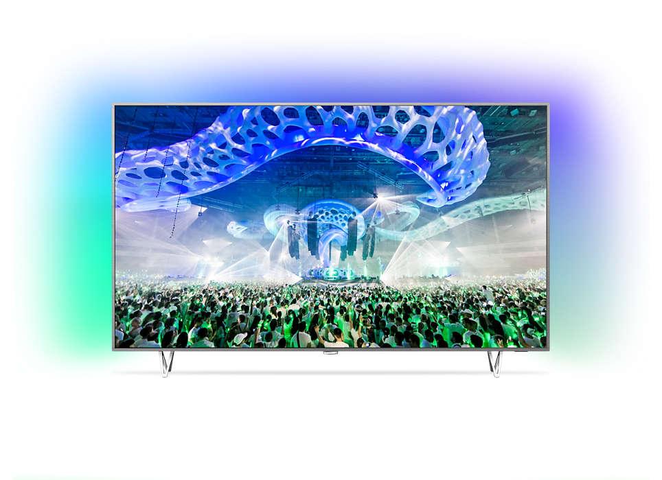 """Itin plonas 4K LED televizorius su """"Android"""""""