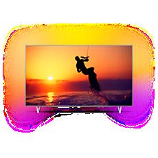 65PUS8102/12  Ultratenký televizor srozlišením 4K sAndroid TV
