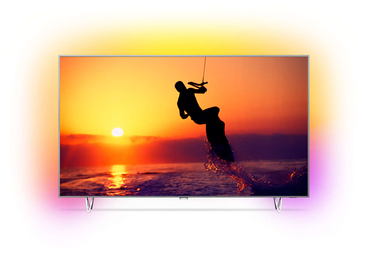 ultraflacher 4k fernseher powered by android tv 65pus8102 12 philips. Black Bedroom Furniture Sets. Home Design Ideas
