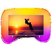 8100 series Ultraslanke 4K-TV powered by Android TV
