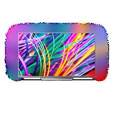65PUS8303/12  Ultratenký 4K UHD LED televizor se systémem Android