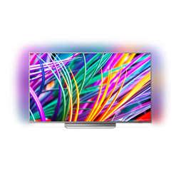 8300 series Android TV LED 4K UHD ultrasubţire