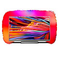 65PUS8503/12  Ultraflacher 4K UHD-LED-Android-Fernseher