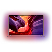 8600 series Ultra tenký TV s rozlíš. 4K UHD so sys. Android™