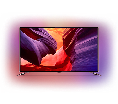b67299143 Ultra tenký TV s rozlíš. 4K UHD so sys. Android™ 65PUS8601/12   Philips