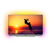8600 series LED med 4K Quantum Dot som drivs av Android TV