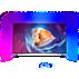 8700 series 4K извит LED телевизор, работещ с Android TV™