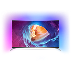 65PUS8700/12  4K Curved LED-TV met Android TV™