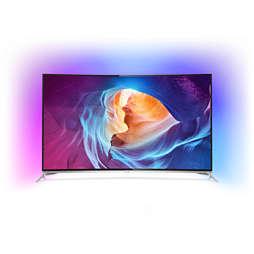 8700 series Изогнутый 4K LED TV на базе Android TV™