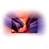 AmbiLux Televisor 4K plano con tecnología Android TV™