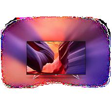 65PUS8901/12  Ultratunn TV med 4K och Android TV™