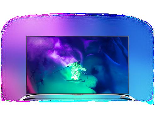 Inne rodzaje Razor Slim 4K UHD TV powered by Android™ 65PUS9109/12 WR45