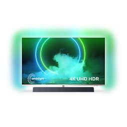 9000 series 4K UHD Android TV ar Bowers skaņu