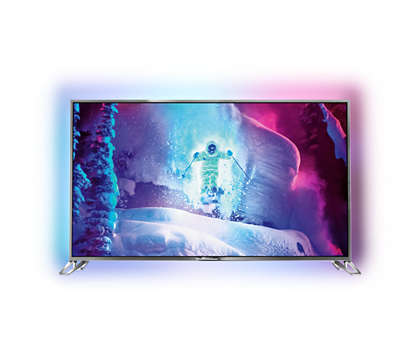 Ultraflacher 4K Ultra HD LEDTV powered by Android
