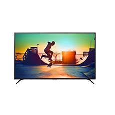 65PUT6023/56  دقة 4K، شاشة رفيعة جدًا، Smart LED TV