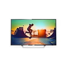 65PUT6162/56  دقة 4K، شاشة رفيعة جدًا، Smart LED TV