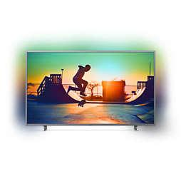6700 series TV LED Cerdas 4K Ultra Tipis