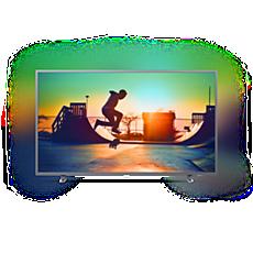 65PUT6703/56  دقة 4K، شاشة رفيعة جدًا، Smart LED TV