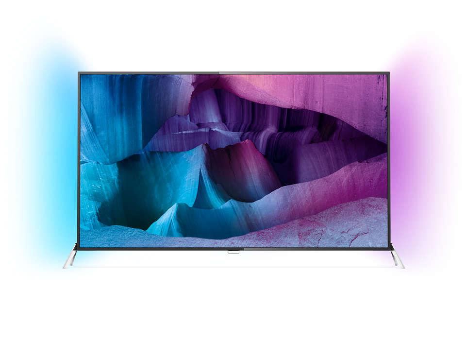 ทีวี 4K UHD Slim LED โดย Android