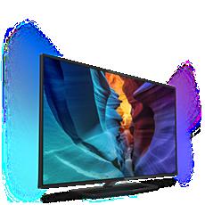 65PUT6800/56  4K UHD، شاشة رفيعة، LED TV مشغّل بواسطة Android™