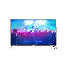 65PUT7101/56  4K، شاشة رفيعة، تلفزيون مشغّل بواسطة Android TV™