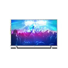 65PUT7601/56  4K، شاشة رفيعة، تلفزيون مشغّل بواسطة Android TV™