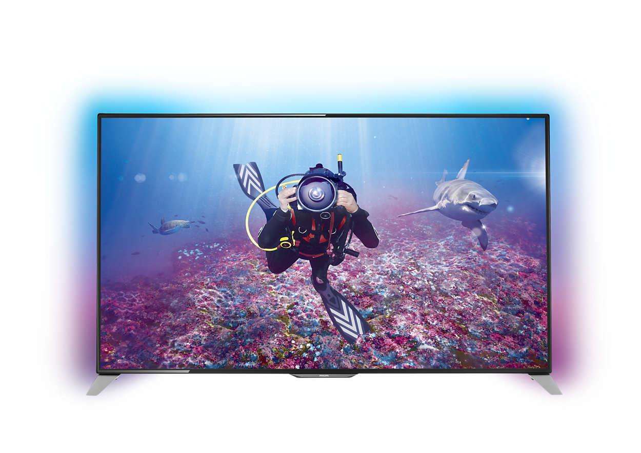 TV màn hình LED siêu mỏng 4K Ultra HD