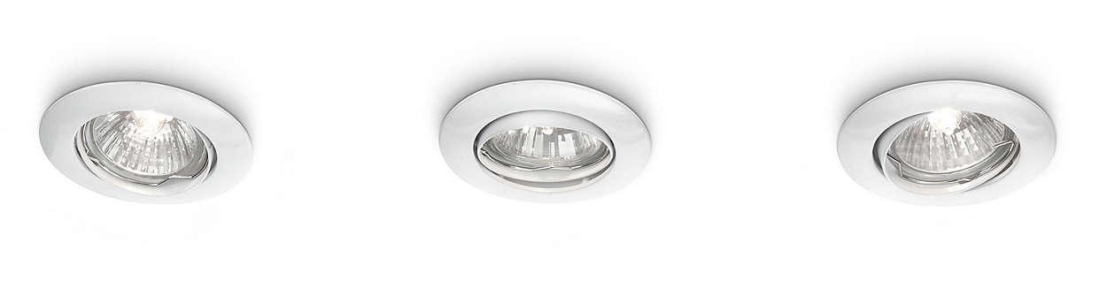 Accentueer uw huis met licht