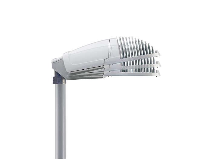 Tiltable spigot, allowing installation on mast