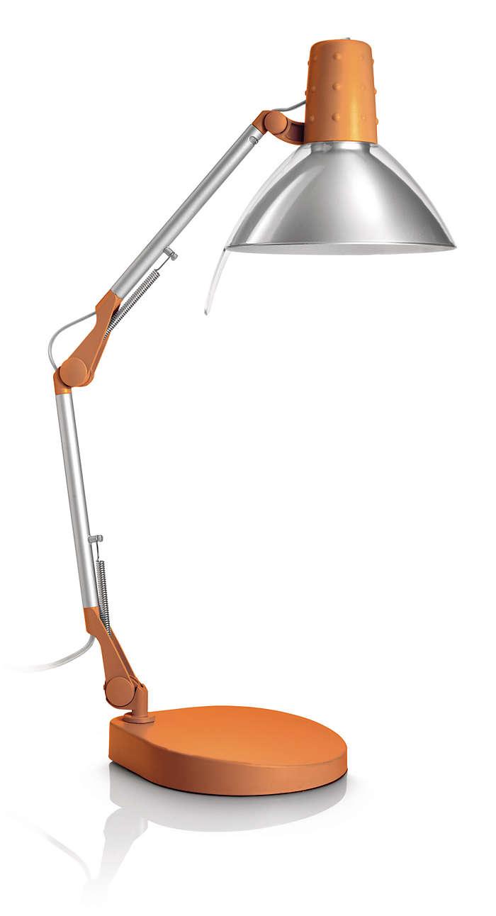Geef uw studeerkamer extra flair met licht