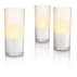 Luminaire CandleLights blanc, 3pièces