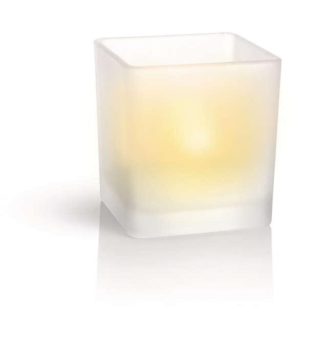 Amplasaţi lumina oriunde, utilizaţi-o cu uşurinţă