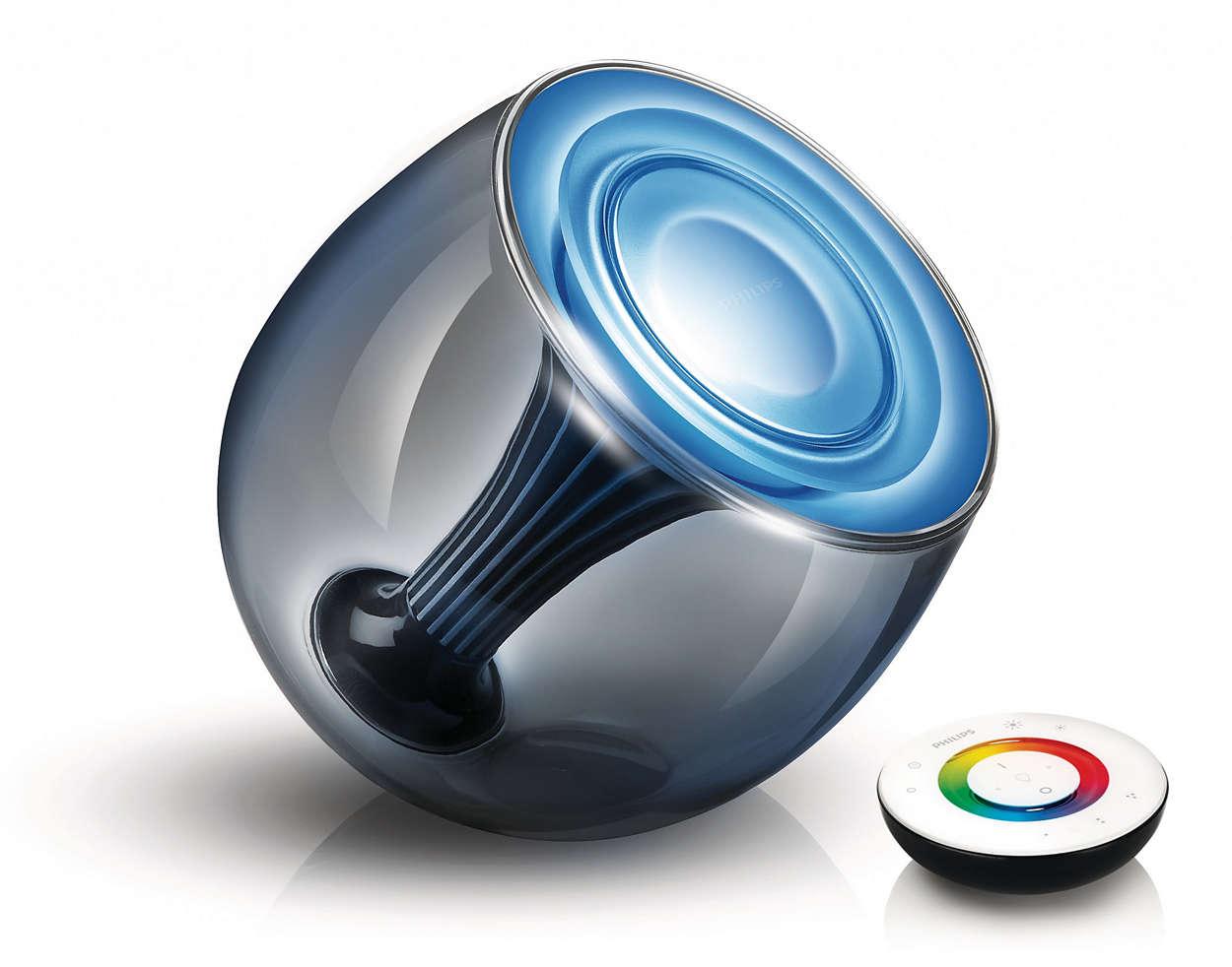 Créez l'éclairage adapté au moment